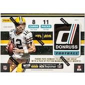 2016 Donruss Football 11-Pack Box