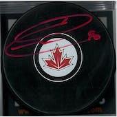 Ryan O'Reilly Autographed Team Canada Hockey Puck