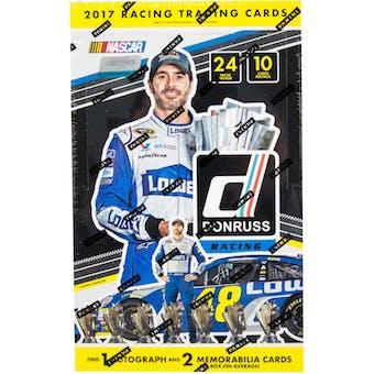 2017 Panini Donruss Racing Hobby Box