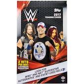 2017 Topps WWE Wrestling Hobby Box