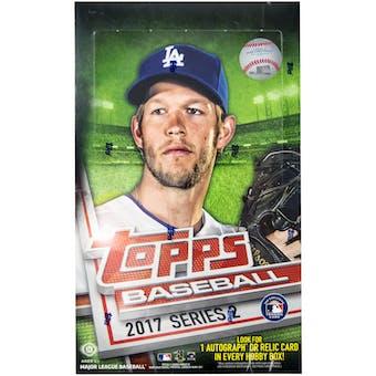2017 Topps Series 2 Baseball Hobby Box