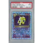 Pokemon Legendary Collection Reverse Foil Hypno 25/110 PSA 9