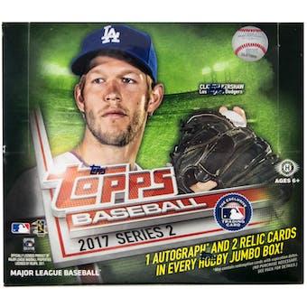 2017 Topps Series 2 Baseball Hobby Jumbo Box