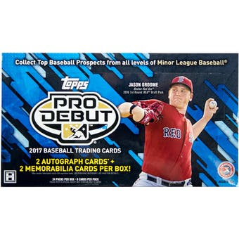 2017 Topps Pro Debut Baseball Hobby Box