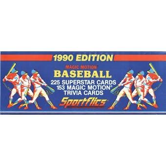 1990 Sportflics Baseball Factory Set