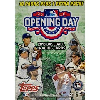 2015 Topps Opening Day Baseball 11-Pack Box