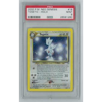 Pokemon Neo Genesis Togetic 16/111 PSA 9