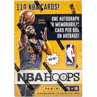 2015/16 Panini Hoops Basketball 10-Pack Box