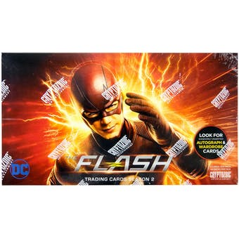 The Flash Season 2 Trading Cards Box (Cryptozoic 2017)