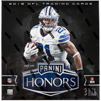 2016 Panini Honors Football Hobby Box