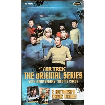 Star Trek The Original Series 40th Anniversary Trading Cards Box (Rittenhouse 2006)