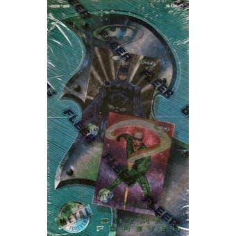 Batman Forever Metal Hobby Box (1995 Fleer Metal)
