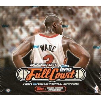 2006/07 Topps Full Court Basketball Hobby Box