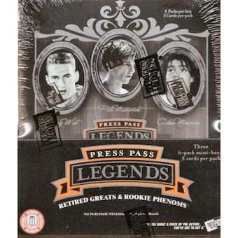 2006/07 Press Pass Legends Basketball Hobby Box