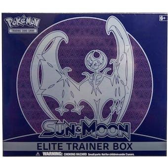 Pokemon Sun & Moon Lunala Elite Trainer Box