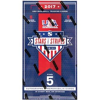 2017 Panini USA Stars & Stripes Baseball Hobby Box