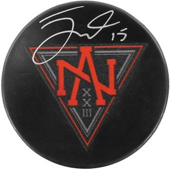 Jack Eichel Autographed Buffalo Sabres North American Hockey Puck