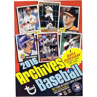 2016 Topps Archives Baseball 8-Pack Box