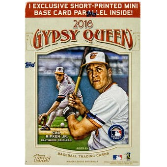 2016 Topps Gypsy Queen Baseball 8-Pack Box
