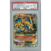 Pokemon XY Flashfire Single M Charizard EX 107/106 Secret Rare PSA 8.5
