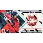 2016 Panini Elite Extra Edition Longevity Baseball Box