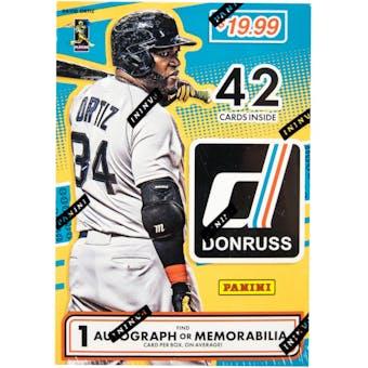 2016 Panini Donruss Baseball 7-Pack Blaster Box