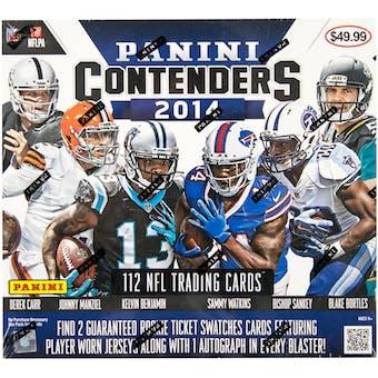 2014 Panini Contenders Football 14-Pack Box
