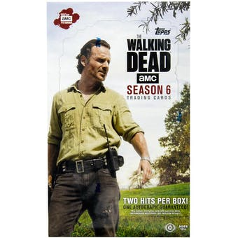 The Walking Dead: Season 6 Hobby Box (Topps 2017)