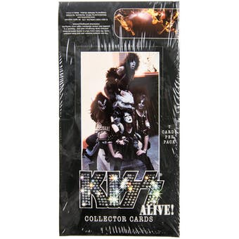 Kiss Alive! Collector Cards Box (NECA) (Reed Buy)
