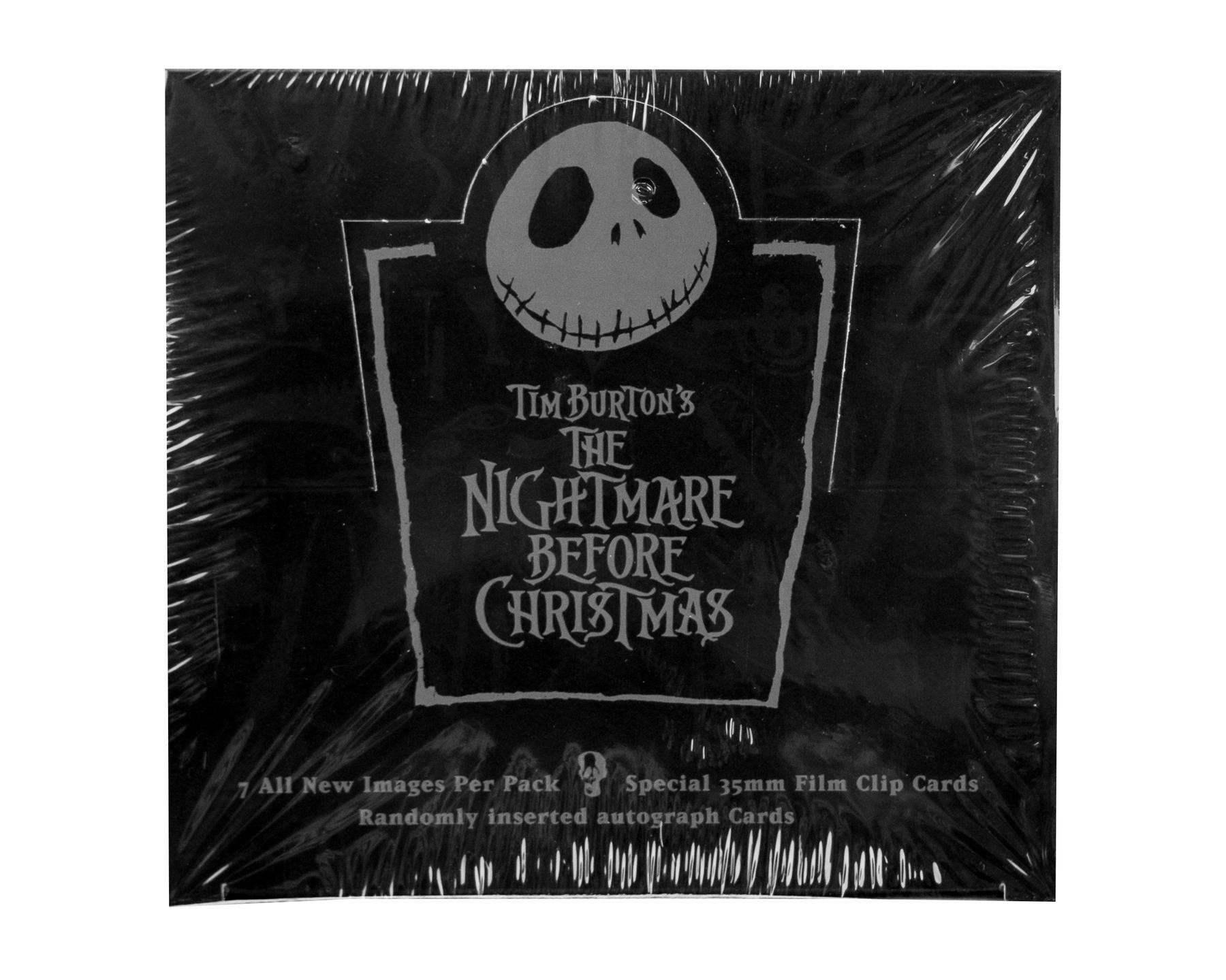Nightmare Before Christmas Premium Trading Cards Box (NECA) | DA ...