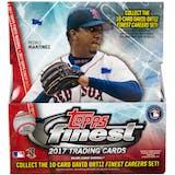2017 Topps Finest Baseball Hobby Box