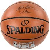 Christian Laettner Autographed NBA Spalding Basketball