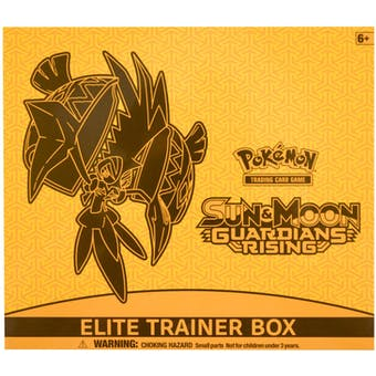 Pokemon Sun & Moon: Guardians Rising Elite Trainer Box