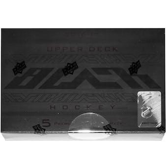 2016/17 Upper Deck Black Hockey Hobby Box