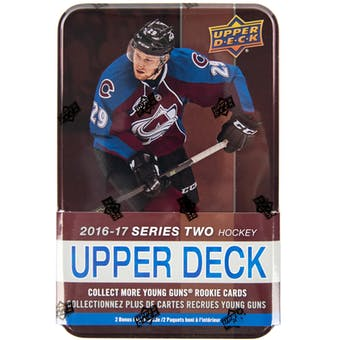 2016/17 Upper Deck Series 2 Hockey Tin (Box)