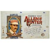 2017 Topps Allen & Ginter Baseball Hobby Box
