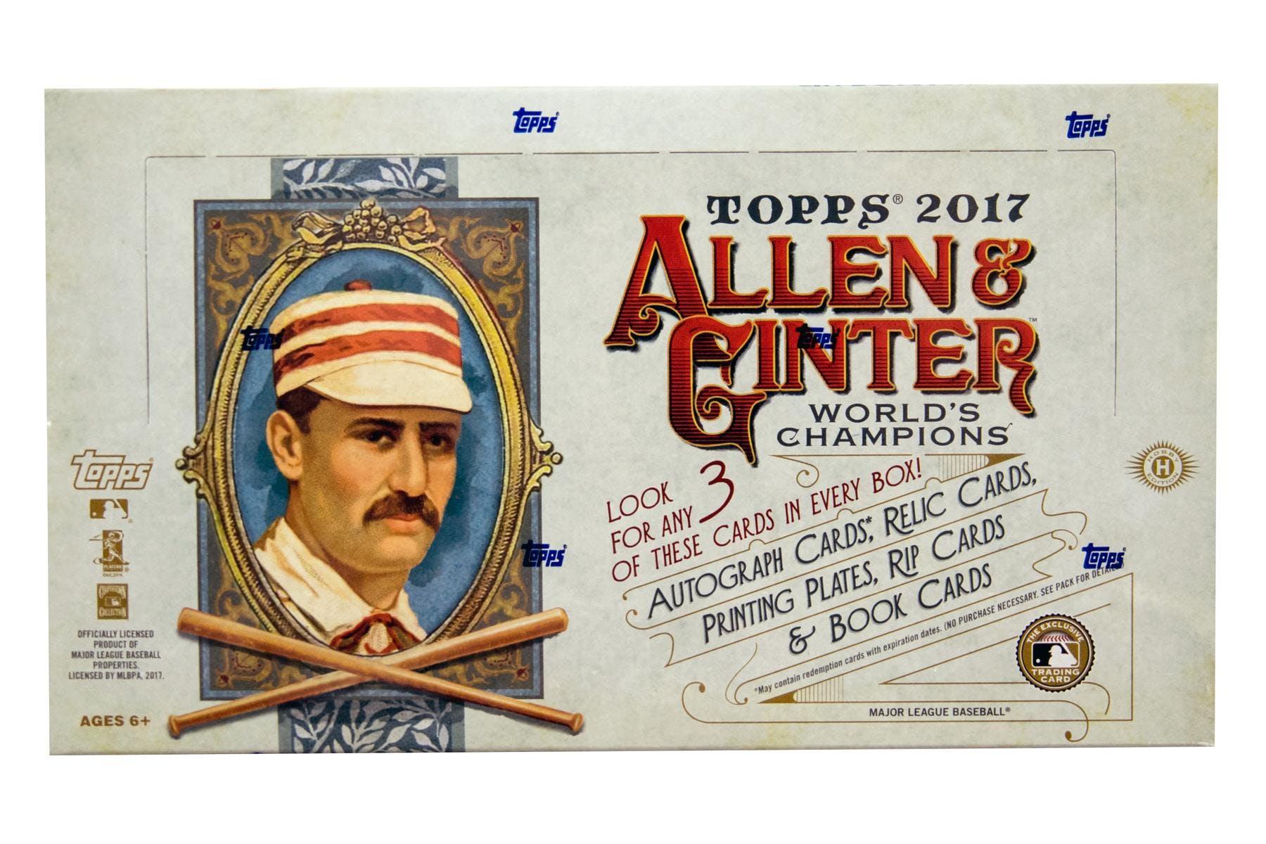 2017 Topps Allen Ginter Baseball Hobby Box