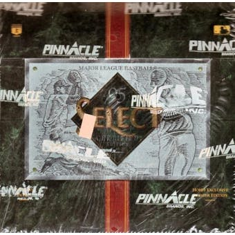 1995 Select Certified Baseball Hobby Box