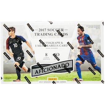 2017 Panini Aficionado Soccer Hobby Box