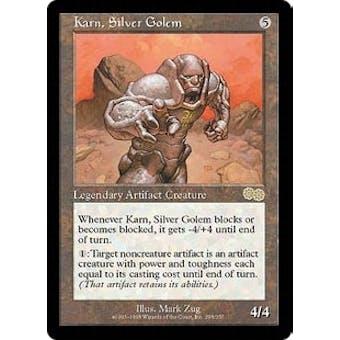 Magic the Gathering Urza's Saga Single Karn, Silver Golem - NEAR MINT (NM)