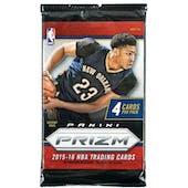 2015/16 Panini Prizm Basketball Retail Pack (Lot of 24) = 1 Box!