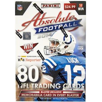 2014 Panini Absolute Football 8-Pack Box
