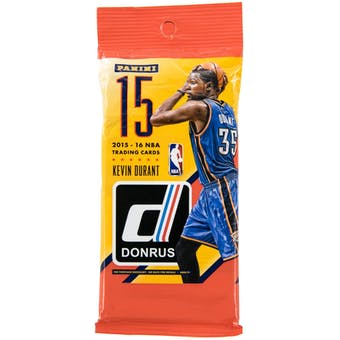 2015/16 Panini Donruss Basketball Jumbo Fat Pack (Lot of 12) = 1 Box