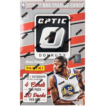 2016/17 Panini Donruss Optic Basketball Hobby Box