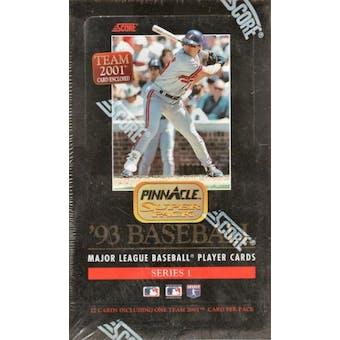 1993 Pinnacle Series 1 Baseball Jumbo Box