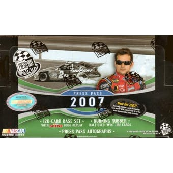 2007 Press Pass Racing Hobby Box