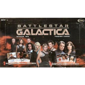 Battlestar Galactica Season 2 Trading Cards Box (Rittenhouse 2007)