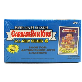 Garbage Pail Kids Series 6 Stickers Box (2007 Topps)