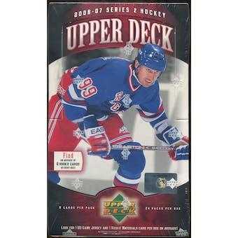 2006/07 Upper Deck Series 2 Hockey Hobby Box