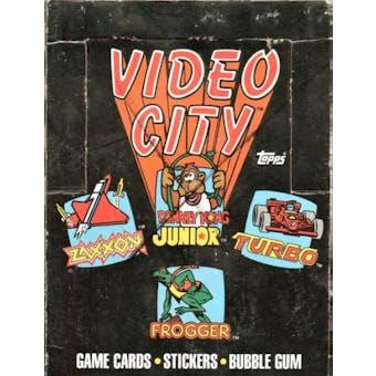 Video City Wax Box (1983 Topps)